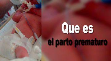 Que es el parto prematuro
