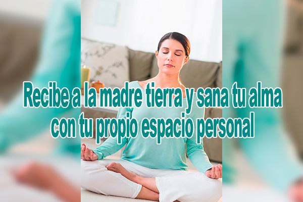Meditación Reiki - Recibe a la madre tierra y sana tu alma con tu propio espacio personal
