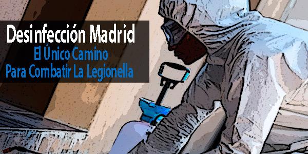 Desinfección Madrid: El Único Camino Para Combatir La Legionella