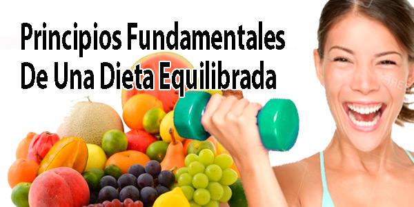 Principios Fundamentales De Una Dieta Equilibrada