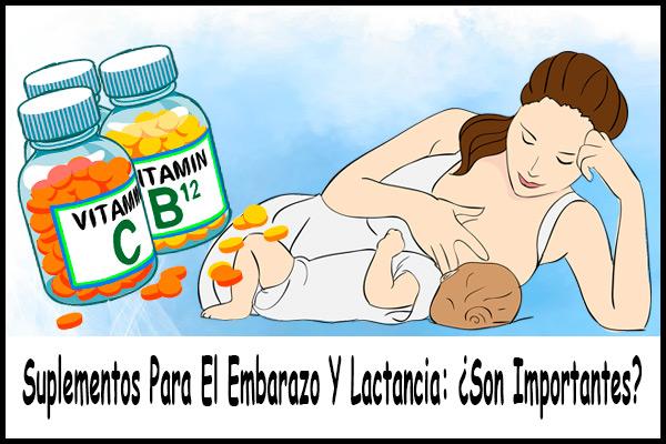 Suplementos Para El Embarazo Y Lactancia: ¿Son Importantes?
