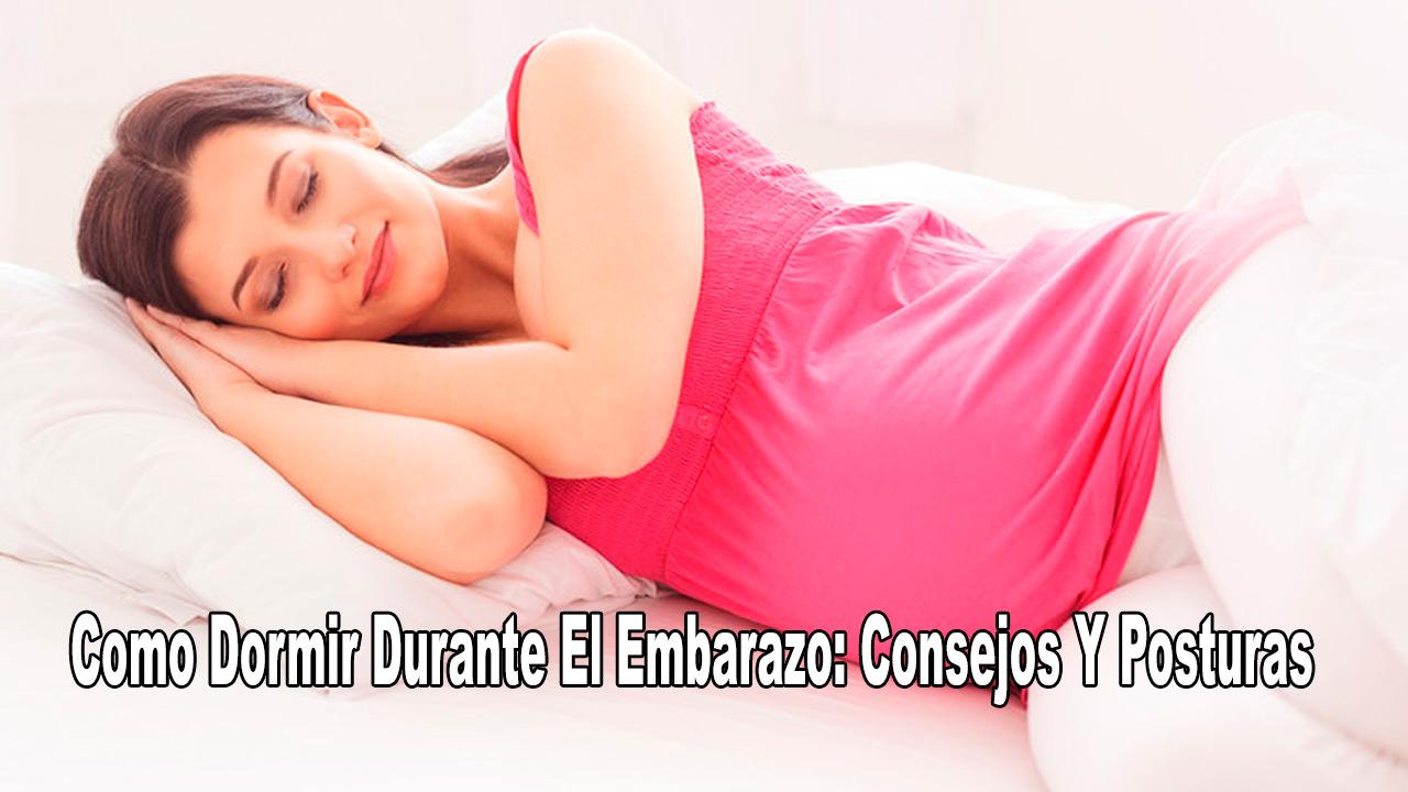 Dormir En El Embarazo: Posiciones Para Dormir Bien
