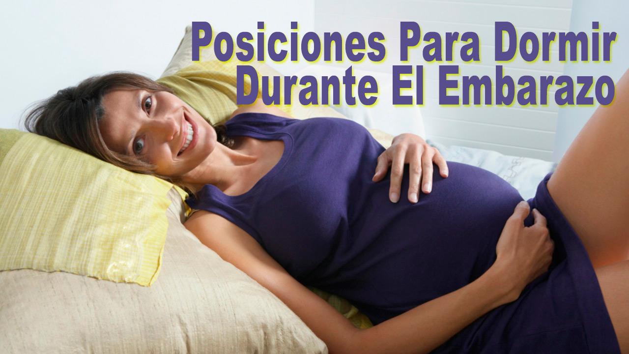 posiciones para dormir en el embarazo